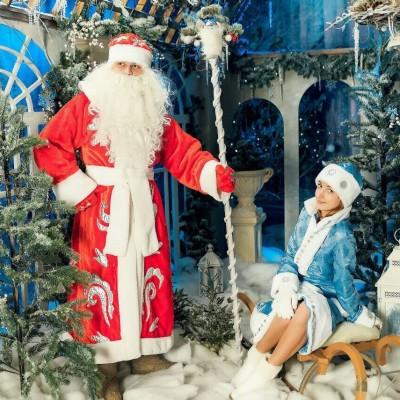 Ded Moroz i Snegurochka 3